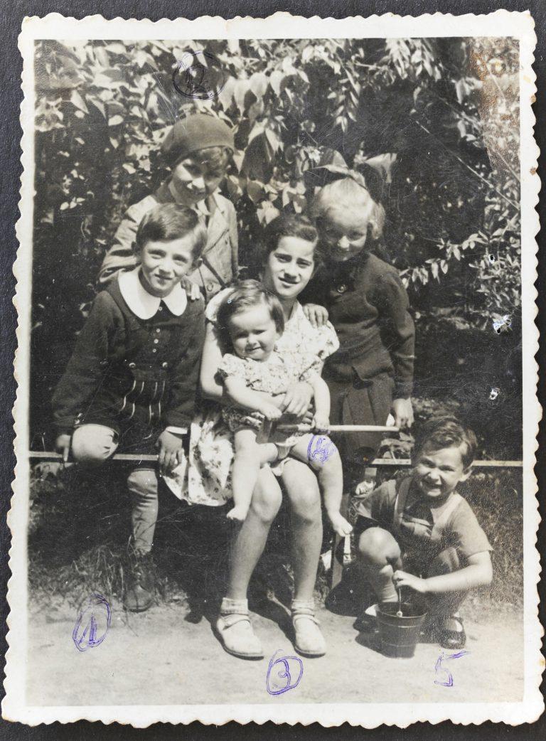 בני דודים ילדי רומק וברוניה בוסק דונקלבלום ווורטסמן