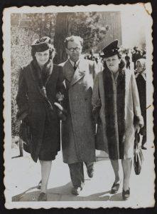 מאיר ולושה בוסאק בקרקוב 1947